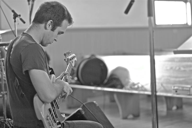 Darren Lipper on Bass